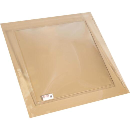 Kennedy Skylights 24 In. x 24 In. Bronze Self-Flashing Domed Skylight