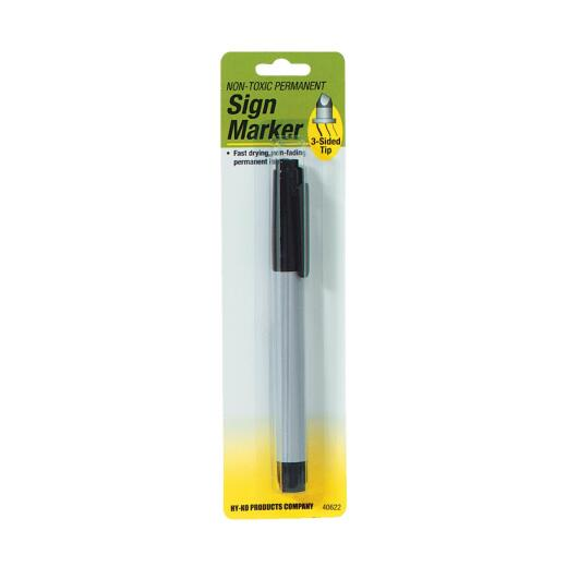 Hy-Ko Black Bold Tip Permanent Sign Marker