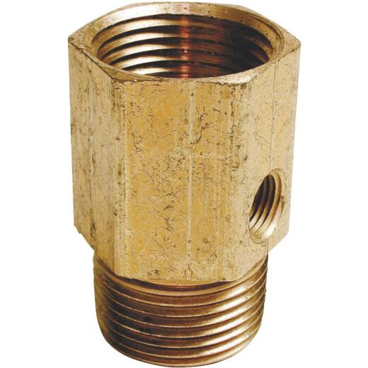 Dial 3/4 In. MPT x 3/4 In. FPT (1/8 In. Side Tap) Pipe Adapter