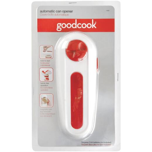 Good Cook Red Automatic Handheld Can Opener