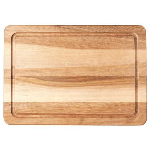 Snow River 14 In. x 20 In. Turkey Hardwood Cutting Board