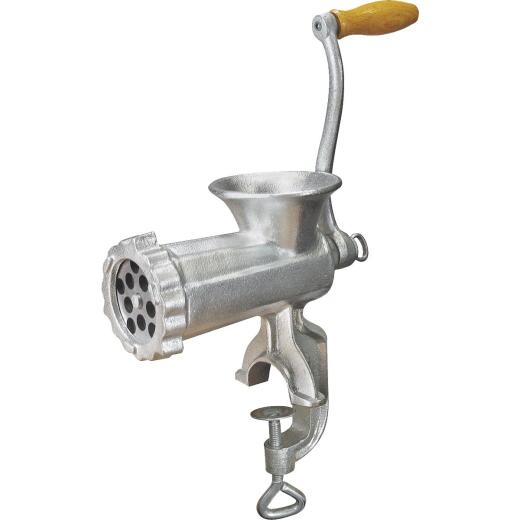 Weston #10 Deluxe Manual Heavy-Duty Meat Grinder (Tinned)